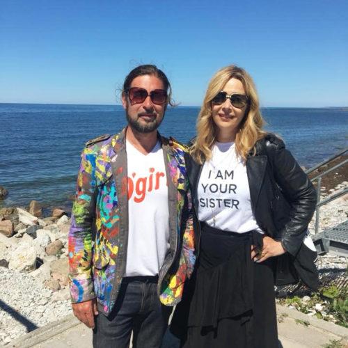 Peter Lindberg och Helena Waker